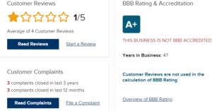 Monex Customer Ratings